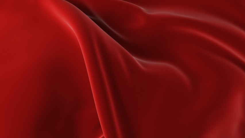 Red Waving Cloth Flying Away Opening Background. Abstract Wavy Silk Textile Transition 3d Animation.  | Shutterstock HD Video #1030899878
