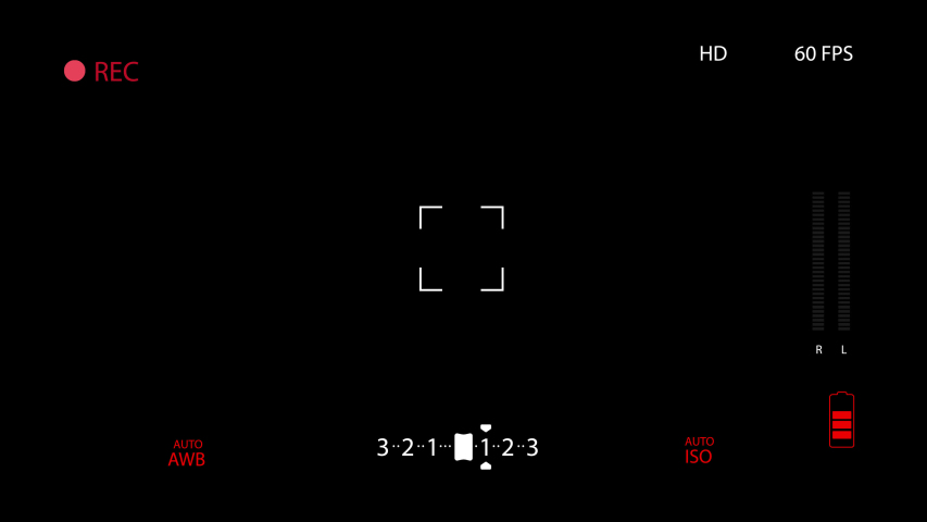 Black Camcorder Camera Overlay Screen Stock Footage Video (100%  Royalty-free) 1032185258   Shutterstock