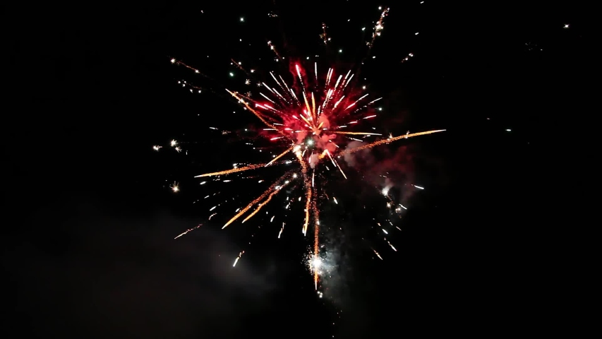 night reaper firework video - 853×480