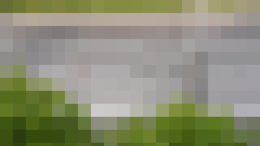 The mosaic green varicolored art Abstract picture. | Shutterstock HD Video #1033262948