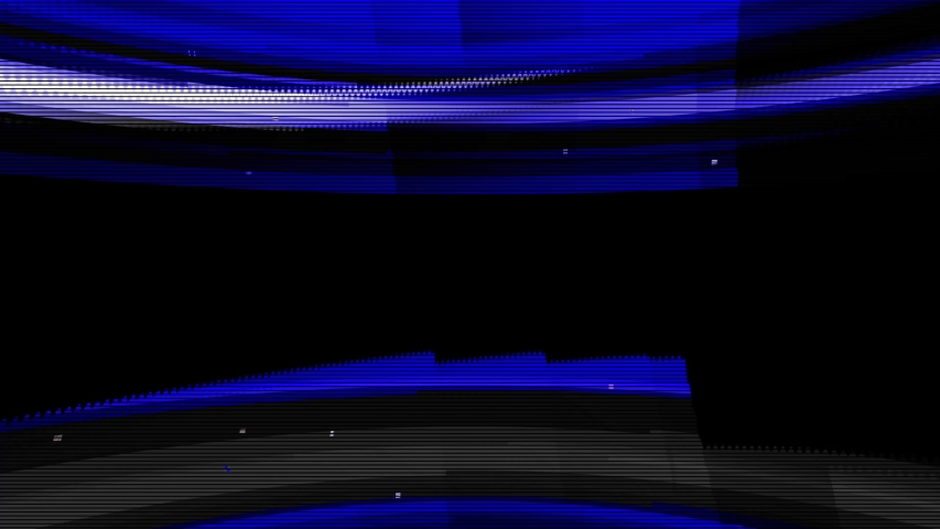 Abstract digital glitch art animation effect. Retro futurism wave style. Video signal damage with pixel noise and error interference | Shutterstock HD Video #1033716338
