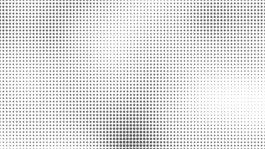 Abstract halftone motion background. Moving dots seamless loop | Shutterstock HD Video #1034130488