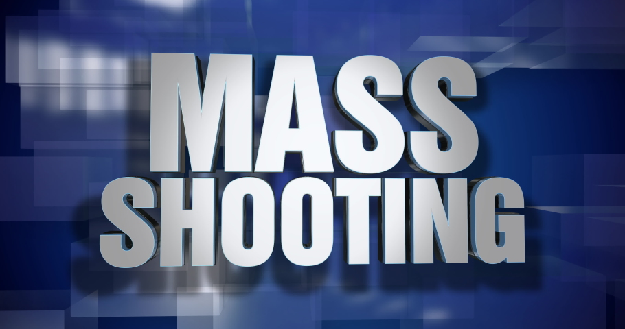 A blue dynamic 3D Mass Shooting news transition and title page animation. 5 and 2 second options included. Green screen.  	 | Shutterstock HD Video #1034567708