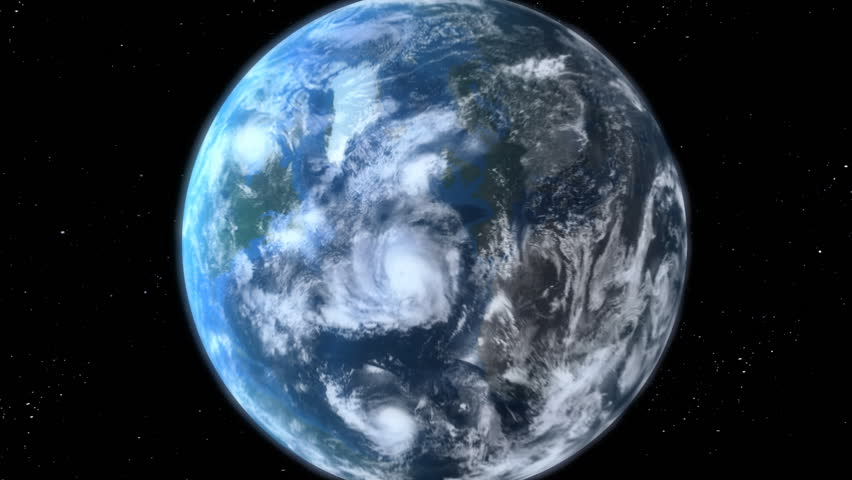 Earth Zoom, beautiful 3d animation. Also see a new version Clip ID 11594681    Shutterstock HD Video #1034845
