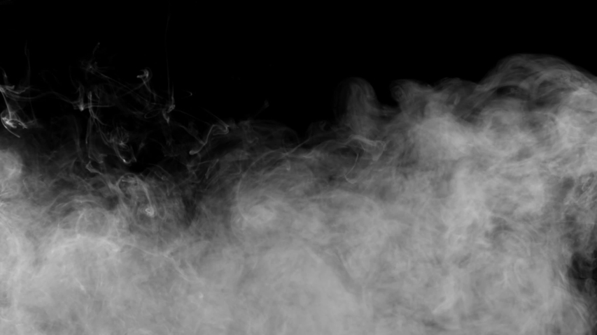 Smoke , vapor , fog , Cloud - realistic smoke cloud best for using in composition, 4k, screen mode for blending, ice smoke cloud, fire smoke, ascending vapor steam over black background - floating fog | Shutterstock HD Video #1035066368