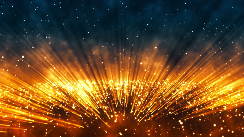 3d render of Abstract Particle Light Background | Shutterstock HD Video #1035195248