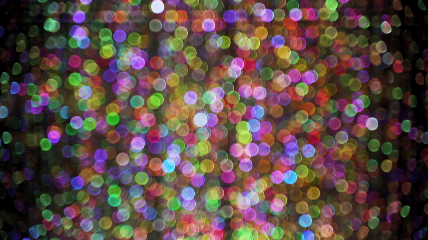 Dazzling Colorful Bokeh Out of Focus Backdrop | Shutterstock HD Video #1035395078