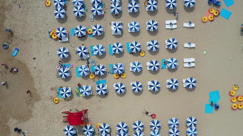 Haeundae Beach in Busan Korea | Shutterstock HD Video #1035831878