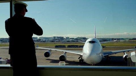 Sydney , NSW / Australia - 06 07 2019: Qantas to decommission Boeing 747 Jumbo Jet