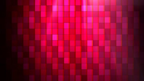 4K Abstract animation - The stars falling down motion on pink square background