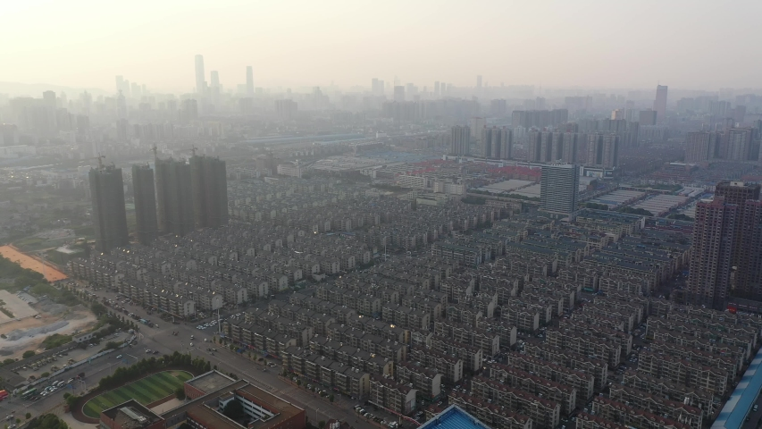 China's Changsha City Architecture Landscape | Shutterstock HD Video #1037157128