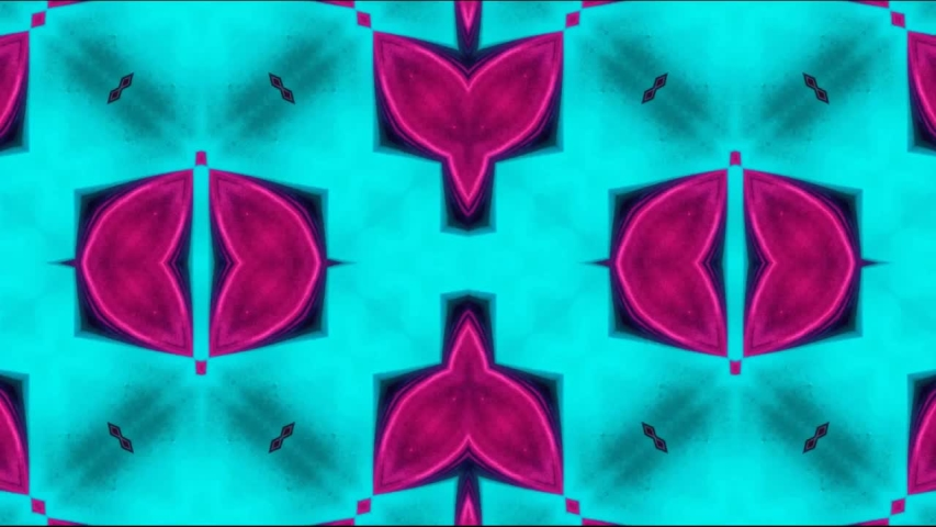 Multicolored kaleidoscope sequence patterns ; Hypnotic kaleidoscope stage visual loop for concert, night club, music video, events, show, exhibition, LED screens and projection mapping | Shutterstock HD Video #1037503748