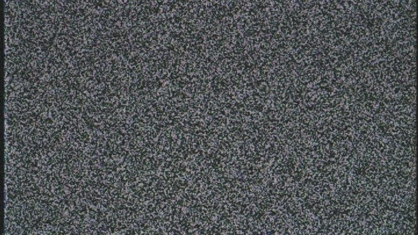 Static VHS TV noise with glitches. Old style  bad signal, broken television background.  | Shutterstock HD Video #1038849068