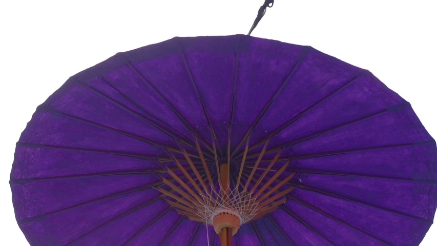 Umbrellas made of colorful fabrics, Thai crafts Lanna umbrella,Chiang Mai Thailand. | Shutterstock HD Video #1039281368