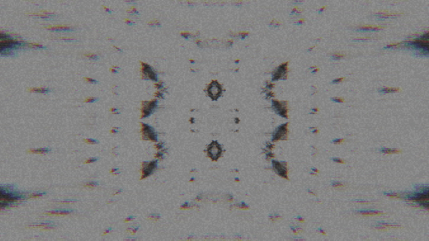 Abstract Symmetry and Reflection Digital Pixel Noise Glitch Background   Shutterstock HD Video #1040983568