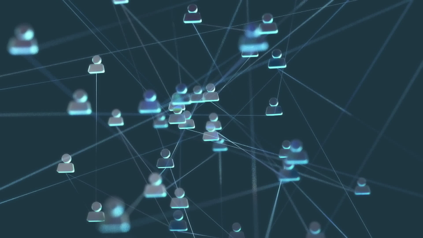 Social networks on the move | Shutterstock HD Video #1040988038