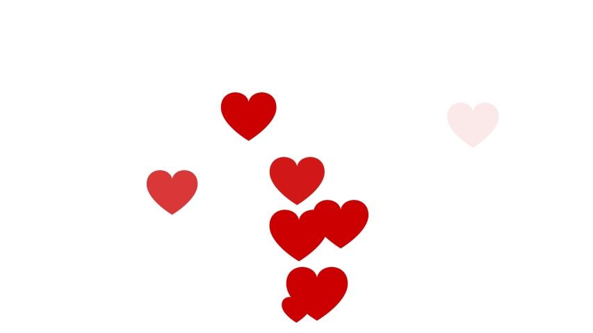 Social love heart icon animation with optional luma matte. Alpha Luma Matte included. 4k video | Shutterstock HD Video #1042783528