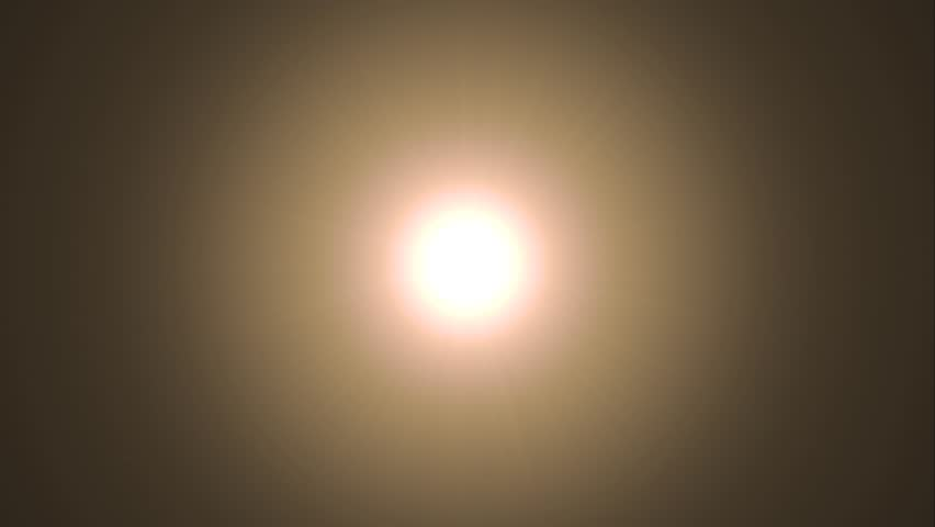 Glowing Sun Cgi With Lens Flare Stock Footage Video 6070547  Shutterstock-8128