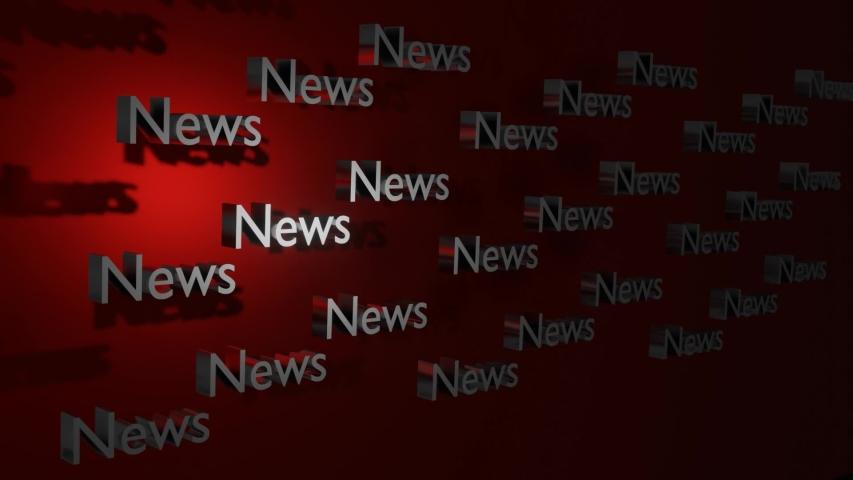 News Headline design - news room title Crisis - transition - 3d animation Typography   Shutterstock HD Video #1044352888