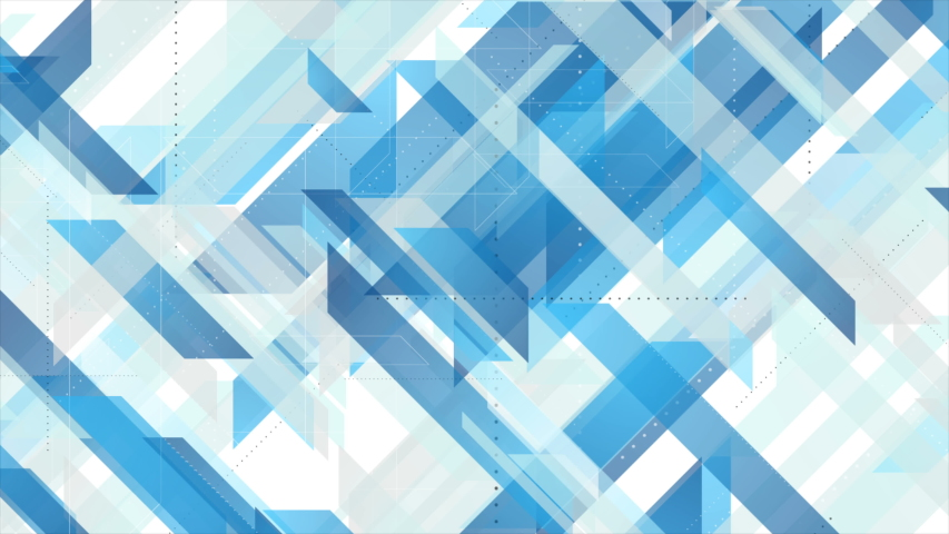 Bright blue and grey technology geometric abstract motion background. Seamless loop. Video animation Ultra HD 4K 3840x2160 | Shutterstock HD Video #1046457748