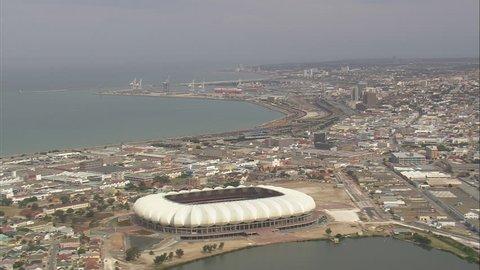 AERIAL South Africa-Nelson Mandela Stadium 2009