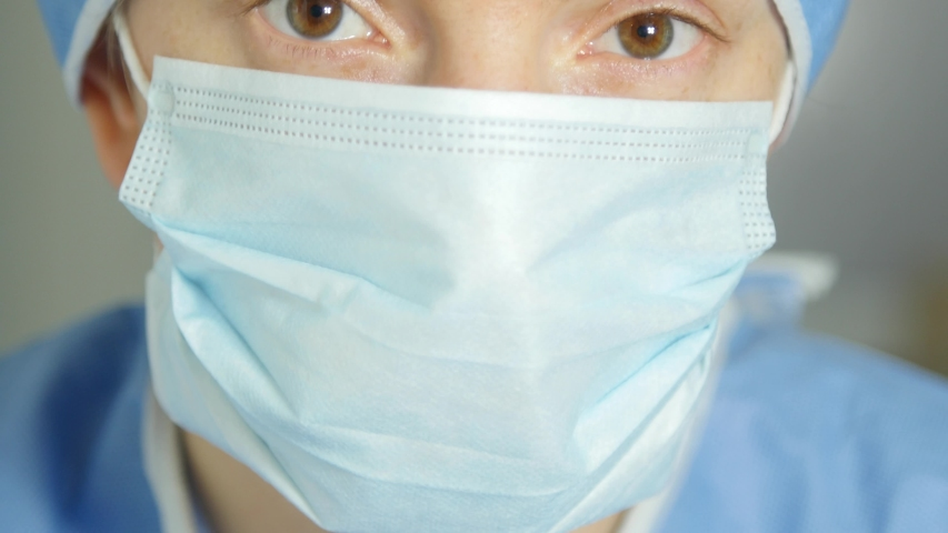 Medical personnel looking at the camera | Shutterstock HD Video #1048894978