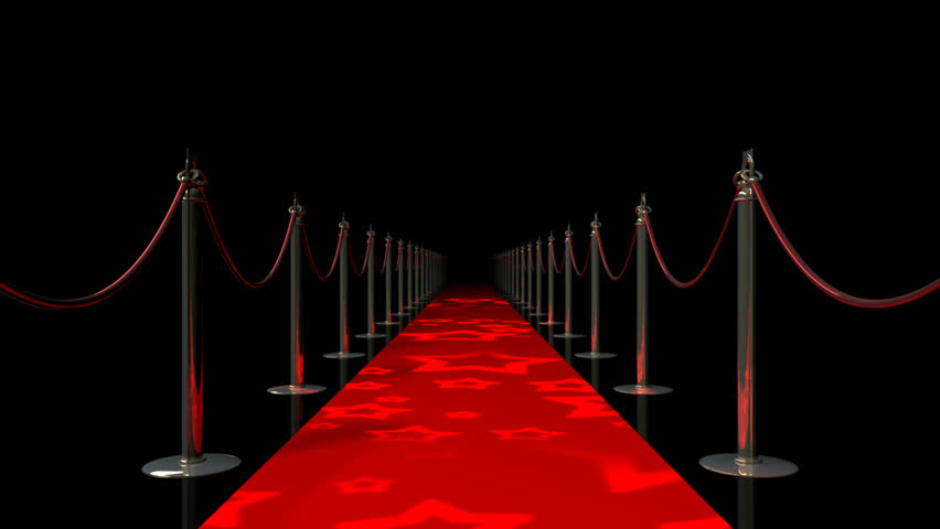 red carpet looped animation hd 1080 stock footage video
