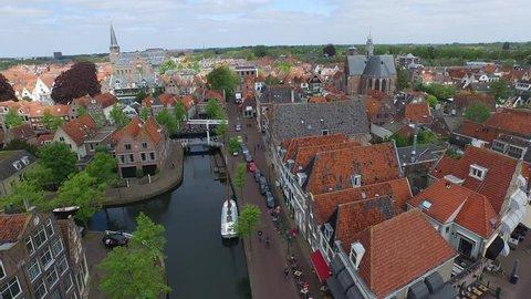 Droneflight over Hoorn