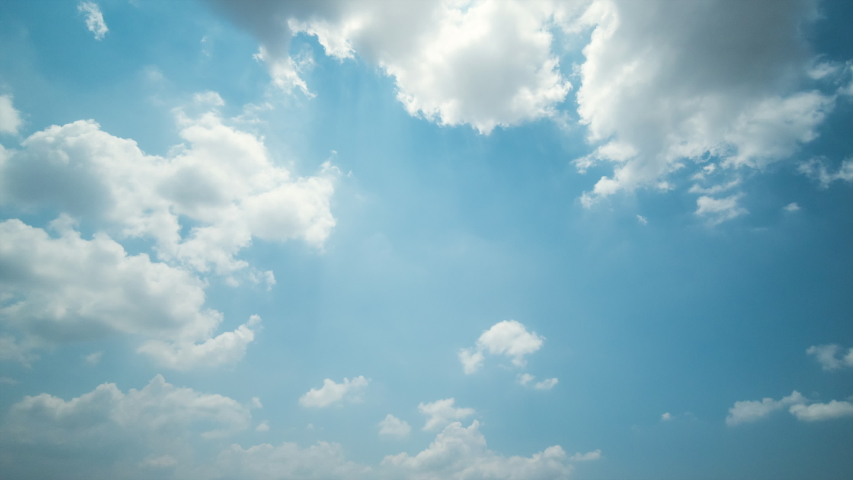 Time lapse, clear blue sky to dark storm clouds with background | Shutterstock HD Video #1049641828