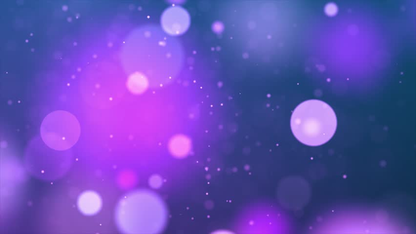 UHD 4K or ultra high definition CGI stock animation & visuals designed for editing, led backdrops or broadcasting featuring pink , yellow, orange, green and red bokeh or orb shaped particles