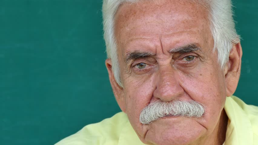 Image of: Hispanic Portrait Of Sad Old People With Emotions And Feelings Worried Hispanic Senior Man Looking At Camera With Depressed Expression On Face Shutterstock Portrait Of Sad Old People Stock Footage Video 100 Royaltyfree