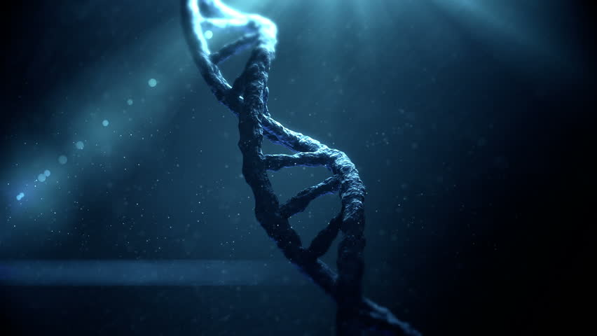 Dna helix on abstract background | Shutterstock HD Video #10831598