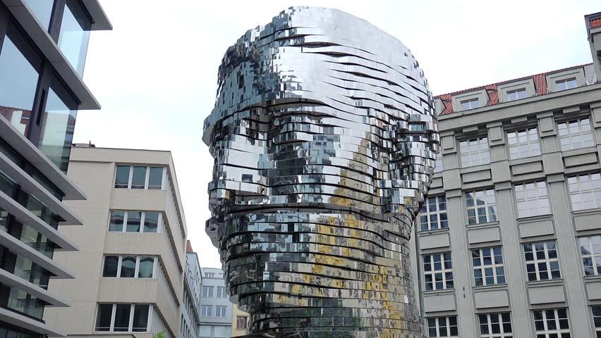 prague czech republic march 2015 david ern e maxim velovsk statue - Brick Apartment 2015