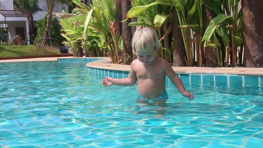 Blonde Little Girl Walks On Stock Footage Video (100% Royalty-free)  10878278 | Shutterstock