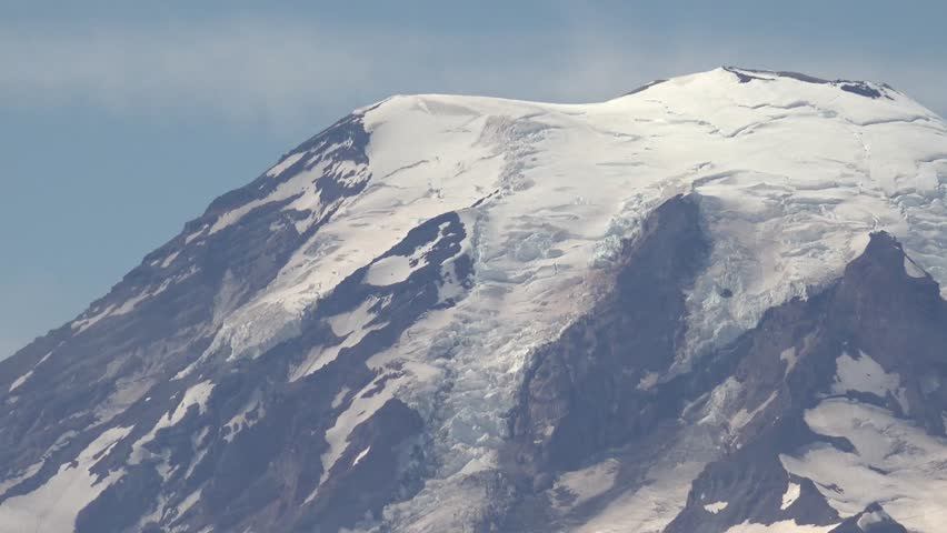 Mount Rainier, Washington, Zoom Out, Video from the East