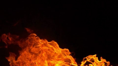 Fire 960fps 24 Slow Motion x32