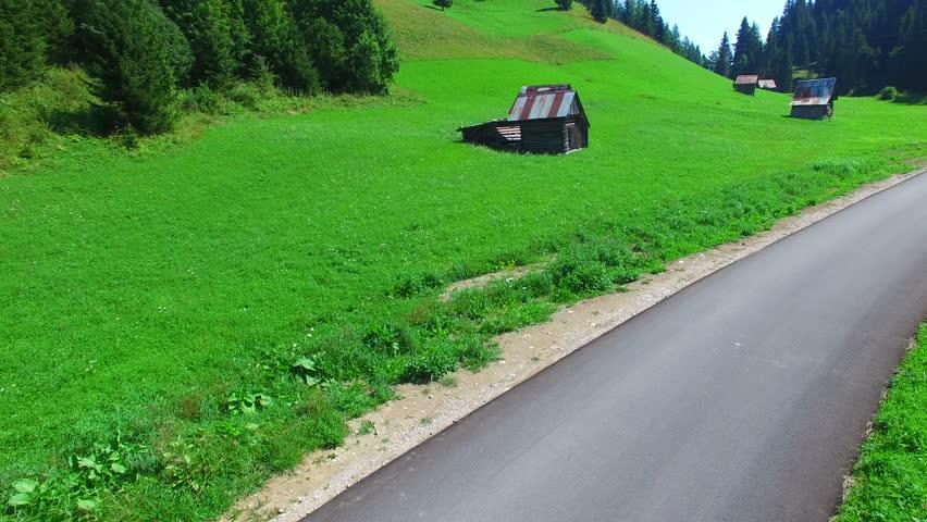 Alpine Mountain Landscape in summer season.  | Shutterstock HD Video #11255588