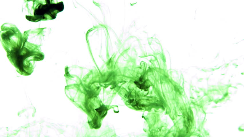Green Ink in Water creative Slow Stock Footage Video (100% Royalty-free)  11293088 | Shutterstock