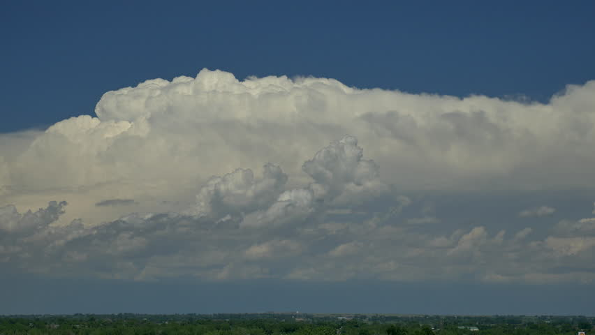 Thunderhead. Large thunderstorm on the horizon