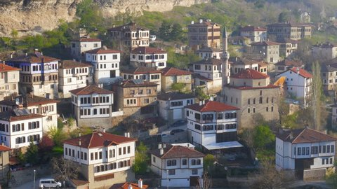 View of Traditional Ottoman Anatolian Village, Safranbolu, Turkey