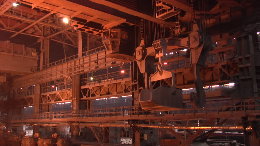 Mining And Metal Forging In Ukraine Large Steel Works