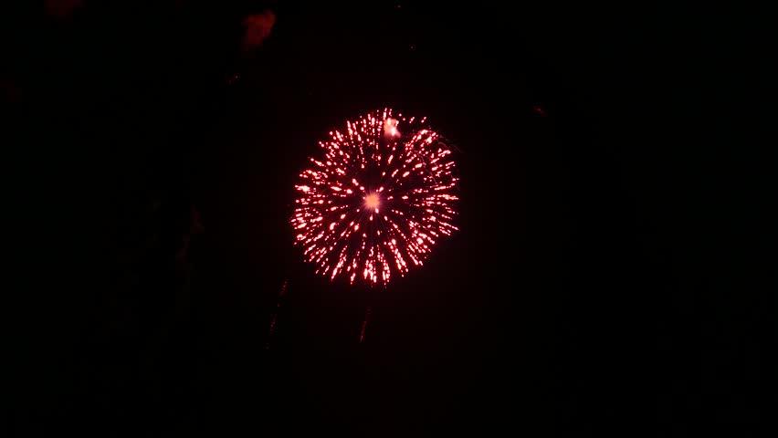 4K footage - Fireworks festival in Japan. | Shutterstock HD Video #11346398