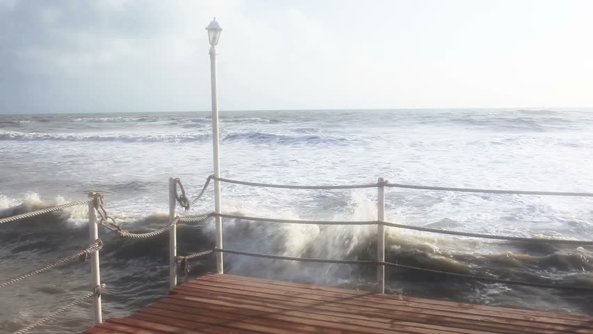 HD: Storm and Waves   Shutterstock HD Video #11431778