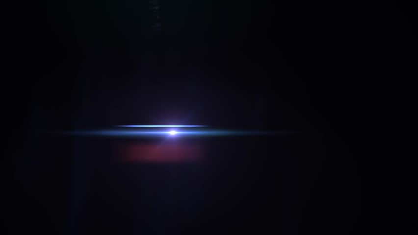 Fancy Light Effects In A Dark Background Stock Footage: Optical Lighting/light Flare On A Dark Background. Great