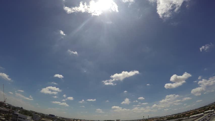 Sky city time lape 5sec/frame | Shutterstock HD Video #11559008