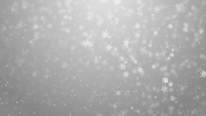 Elegant Christmas Background With Snowflakes Stock Vector: Seamless Loop, Winter Theme. VJ