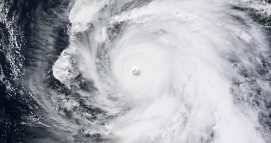 View from orbit of Hurricane Rick, the strongest named storm of  2009. Image: NASA.