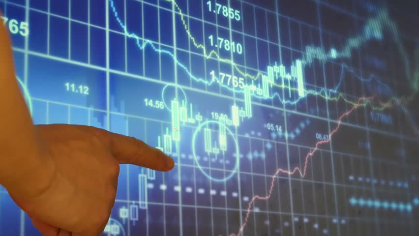 Person study the stock trend graph on the screen | Shutterstock HD Video #11649812