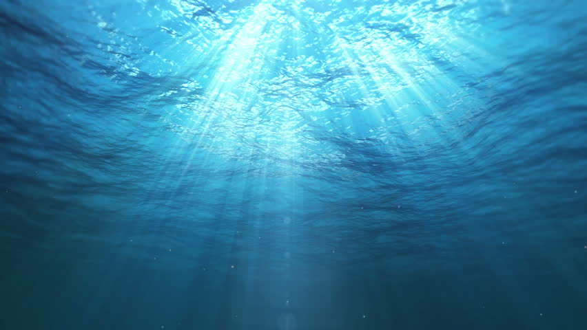 Underwater Sun Rays in the Ocean (Loop) | Shutterstock HD Video #11752739