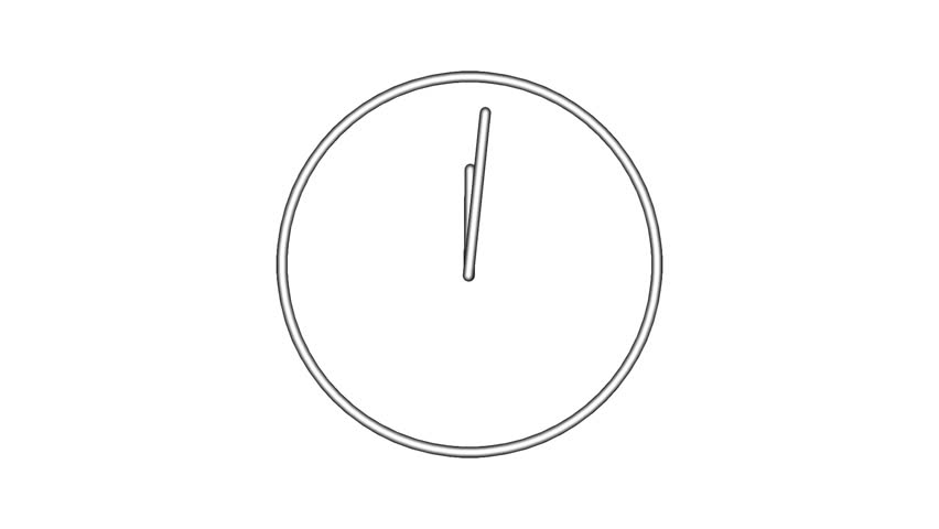 Clock time lapse full HD 1920x1080 24s 30Fps.   Shutterstock HD Video #11792918